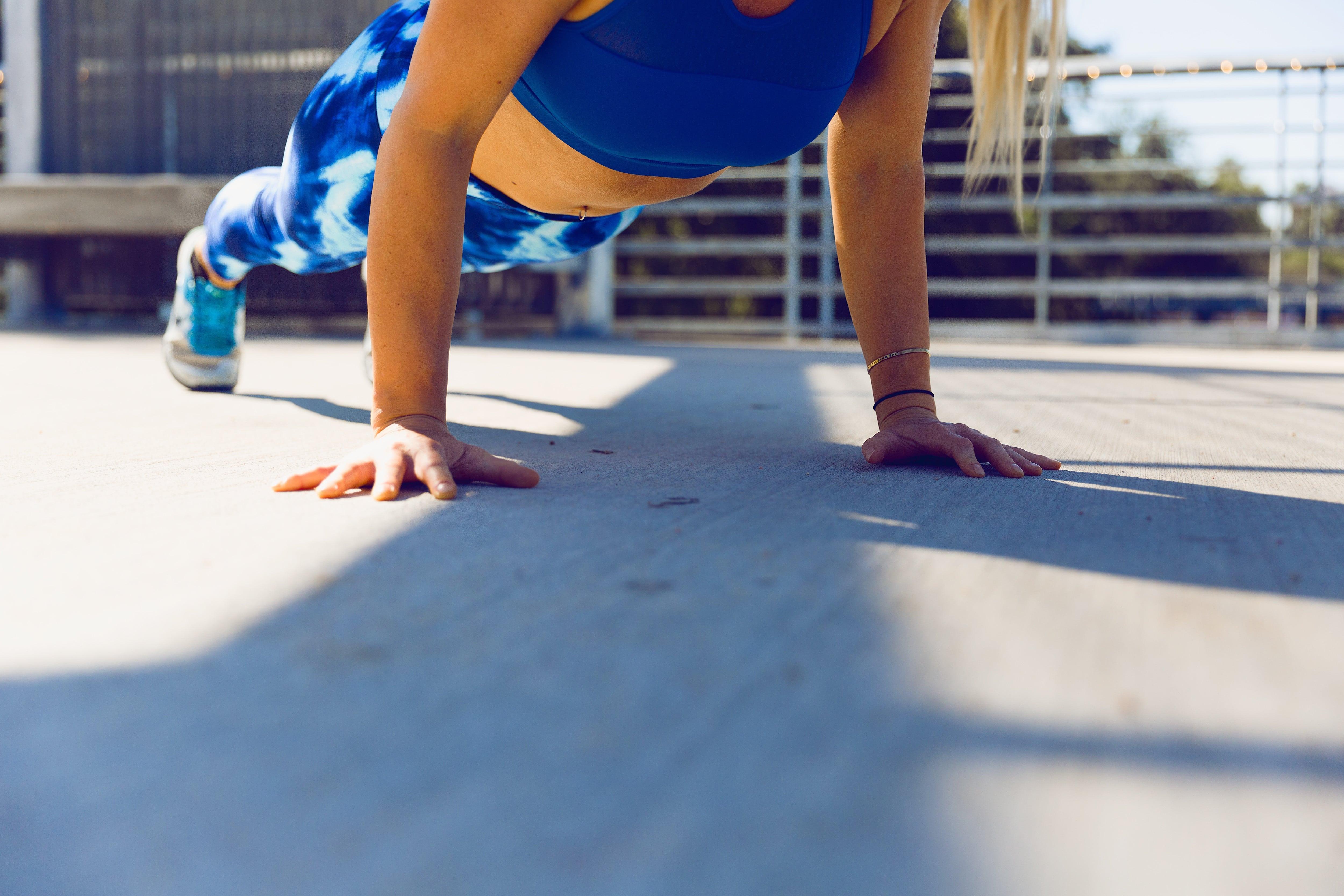 exercitando o corpo