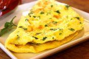 omelete proteico