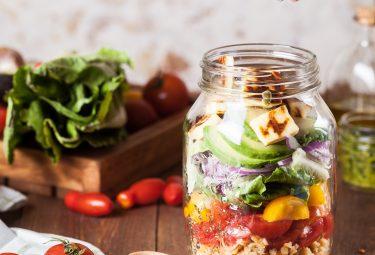 salada de pote