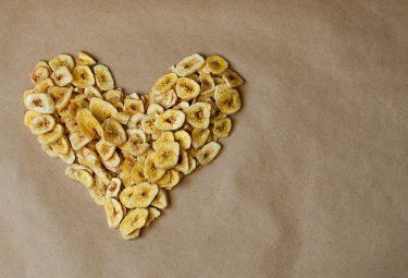 Receita de chips de banana