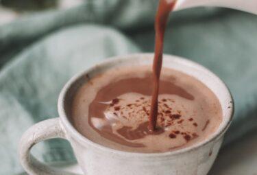 chocolate quente saudavel